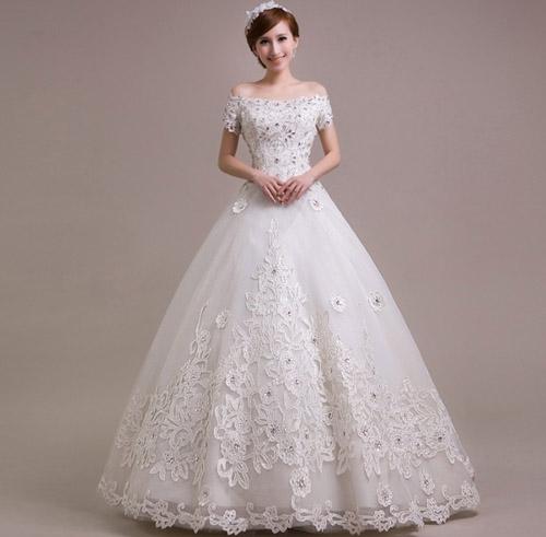 may váy cưới theo mẫu 1